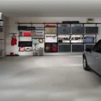 вариант функционального стиля гаража картинка