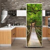 идея необычного оформления холодильника картинка