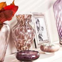идея необычного декорирования вазы фото