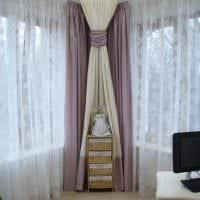 идея необычного декорирования углов в квартире фото