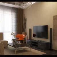 вариант красивого интерьера 2 комнатной квартиры картинка