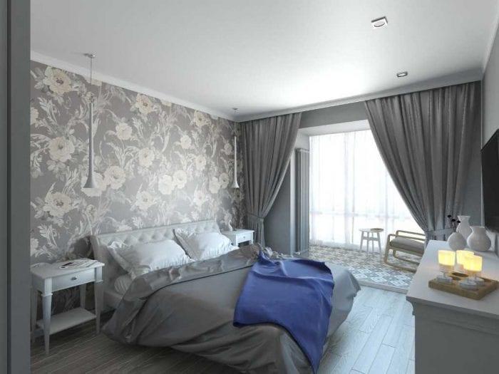 вариант оригинального дизайна 2 комнатной квартиры