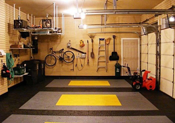 идея необычного дизайна гаража