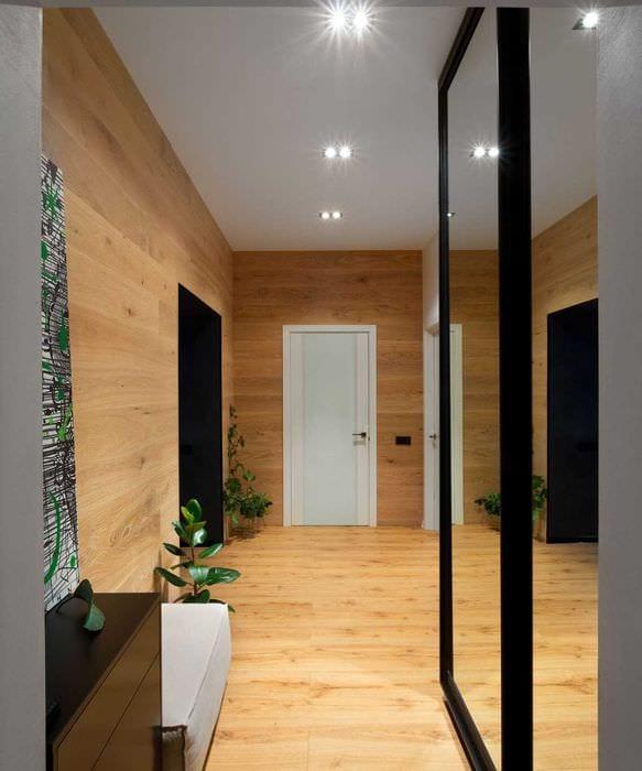 идея оригинального дизайна спальни 3-х комнатной квартиры