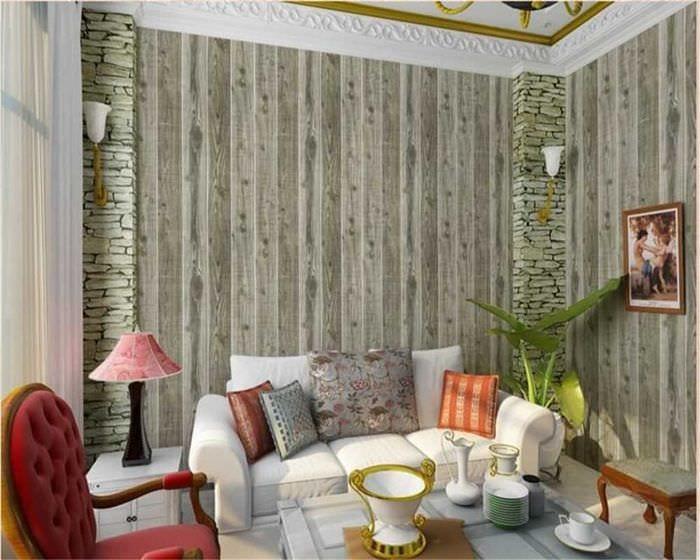 идея оригинального дерева в стиле комнаты