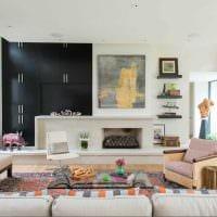 вариант яркого дизайна квартиры 2017 года картинка