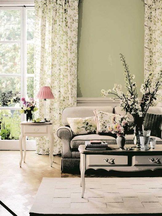 вариант красивого интерьера квартиры