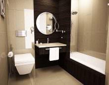 идея необычного стиля ванной в квартире картинка