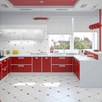 идея оригинального интерьера кухни картинка