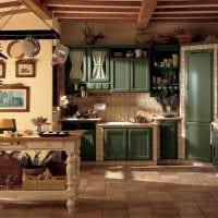 идея яркого интерьера дома в деревне картинка