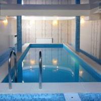 идея красивого стиля небольшого бассейна картинка