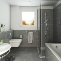 идея необычного интерьера ванной комнаты в квартире картинка