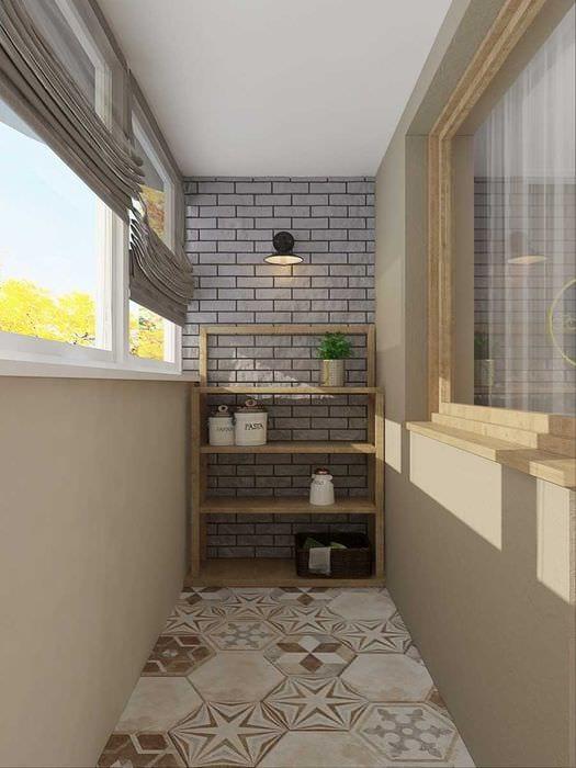 идея необычного дизайна 2 комнатной квартиры