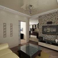 идея яркого интерьера квартиры фото