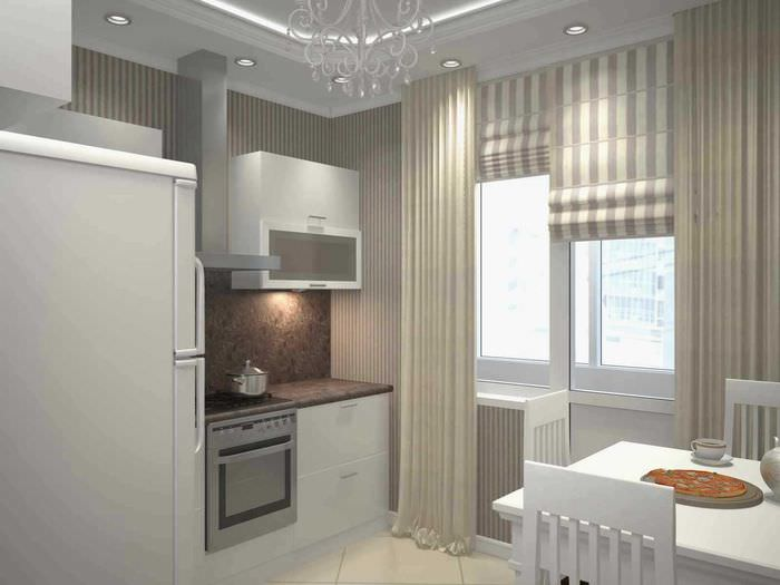 идея оригинального интерьера квартиры