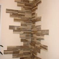 идея необычного украшения углов в квартире картинка