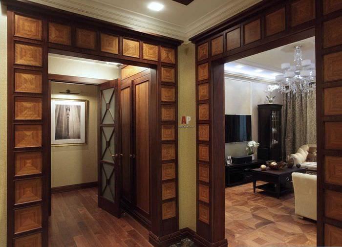 Дверные проёмы оформление без дверей фото своими руками