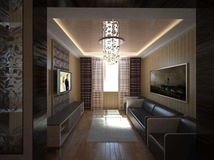 Дизайн трехкомнатной квартиры чешка