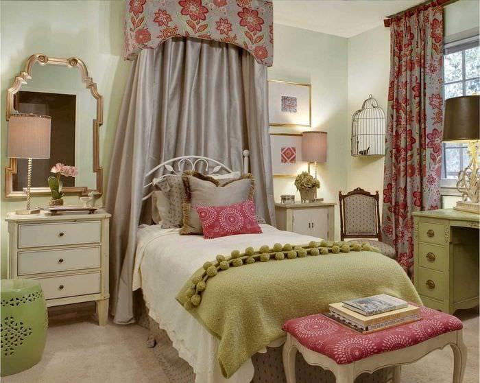 идея красивого дизайна комнаты для девочки