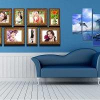 вариант оригинального декора напольной вазы с декоративными цветами фото