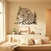 вариант красивого декорирования дизайна спальни картинка