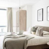 идея яркого декорирования стиля спальни картинка