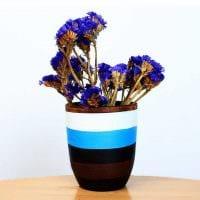 идея красивого оформления напольной вазы картинка