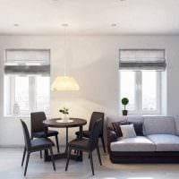 идея оригинального интерьера 2 комнатной квартиры картинка пример