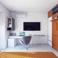 вариант красивого стиля 2 комнатной квартиры фото