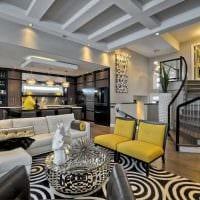 вариант красивого интерьера квартиры 2017 года картинка
