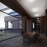 идея яркого стиля веранды в доме картинка