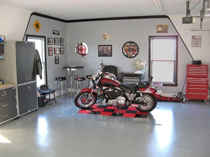 идея функционального дизайна гаража