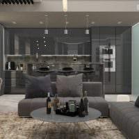 идея оригинального интерьера квартиры 2017 года картинка
