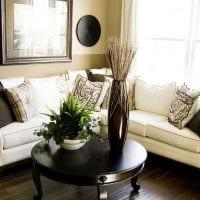 вариант красивого дизайна квартиры с диваном картинка