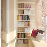 идея современного стиля маленького балкона картинка