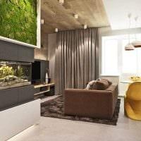 идея современного дизайна кухни 3-х комнатной квартиры картинка