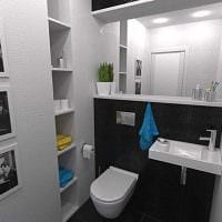 идея оригинального дизайна ванной картинка