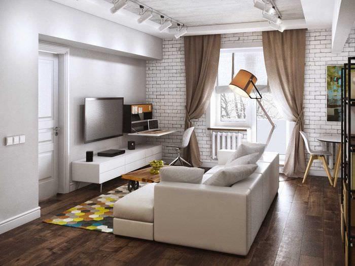 Идеи для интерьера 2 комнатной квартиры фото
