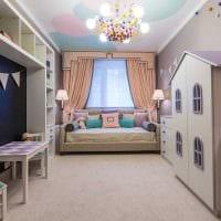 идея красивого стиля спальни для девочки фото