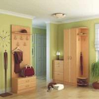 идея цветной интерьера коридора фото
