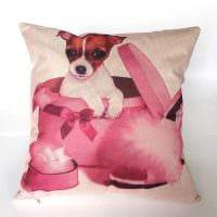 идея современных декоративных подушек в дизайне гостиной картинка