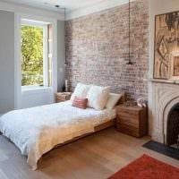 идея применения яркого декоративного кирпича в стиле квартиры фото