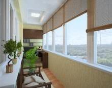 вариант необычного интерьера маленького балкона фото