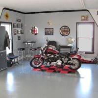 идея яркого дизайна гаража картинка