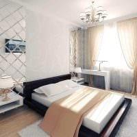 идея красивого декорирования стиля спальной комнаты картинка