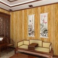 идея оригинального дерева в дизайне квартиры фото