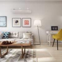 идея красивого интерьера 2 комнатной квартиры фото
