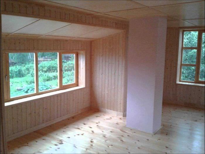 Внутренняя отделка старого дома своими руками
