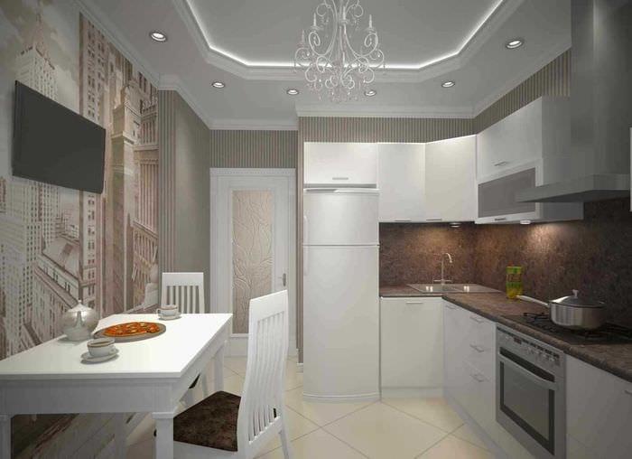 Дизайн 2х комнатной квартиры 66 квм