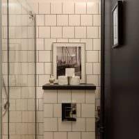 идея яркого стиля ванной картинка